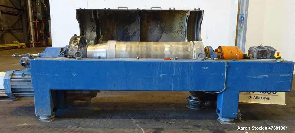 Used- Alfa Laval DSNX-4850 Solid Bowl Decanter Centrifuge