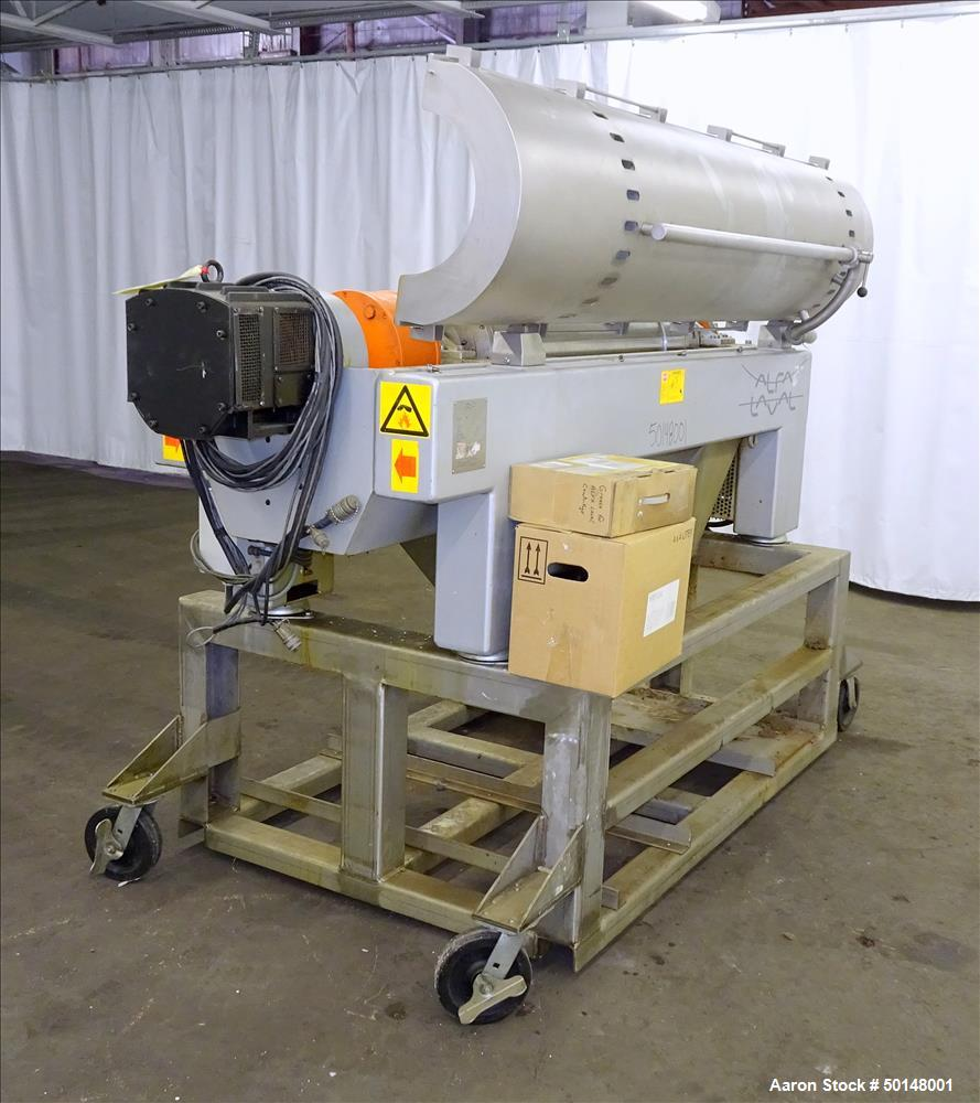 Used - Alfa Laval Foodec-209 Solid Bowl Decanter Centrifuge