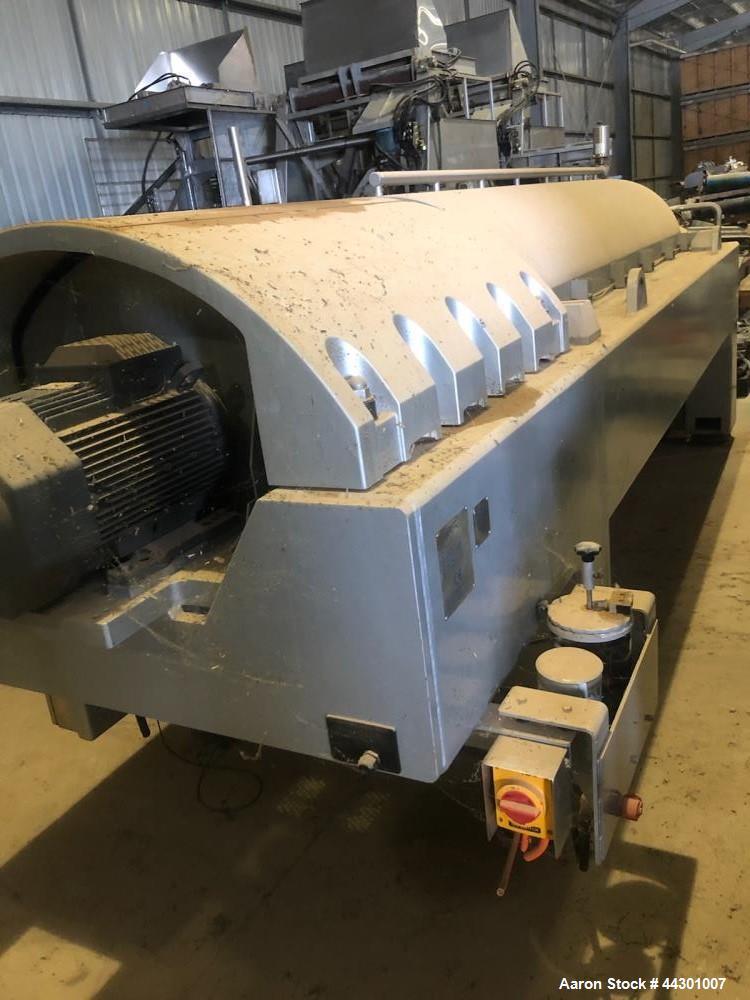 Used- Alfa Laval Foodec 600 Solid Bowl Decanter Centrifuge