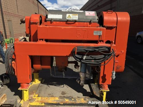 """Used- Alfa Laval DMNX-414B-31G """"Drilling Mud"""" Solid Bowl Decanter Centrifuge"""