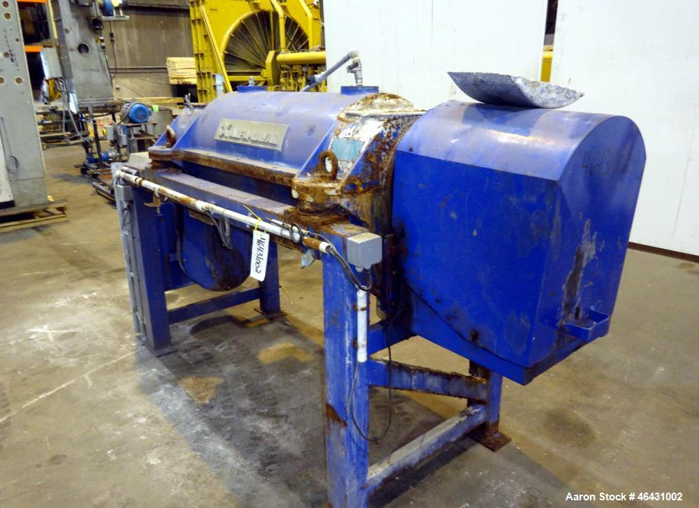 Used- Alfa Laval Solid Bowl Decanter Centrifuge, Model NX-714
