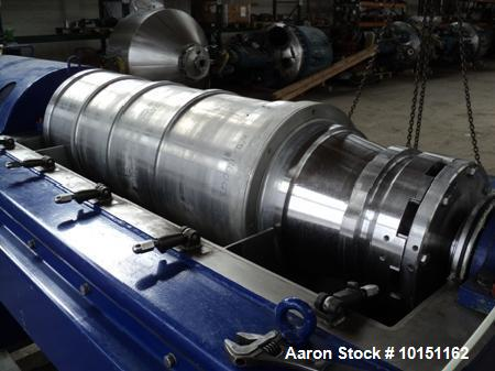 Used- Stainless Steel Alfa Laval Super-D-Canter Centrifuge