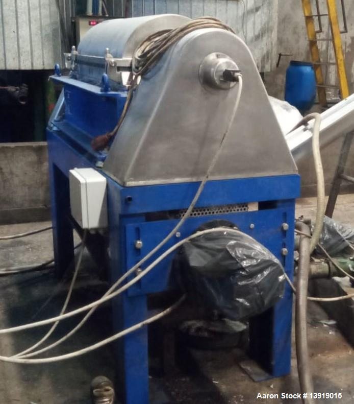Used- Alfa Laval UVNX-314 Solid Bowl Decanter Centrifuge