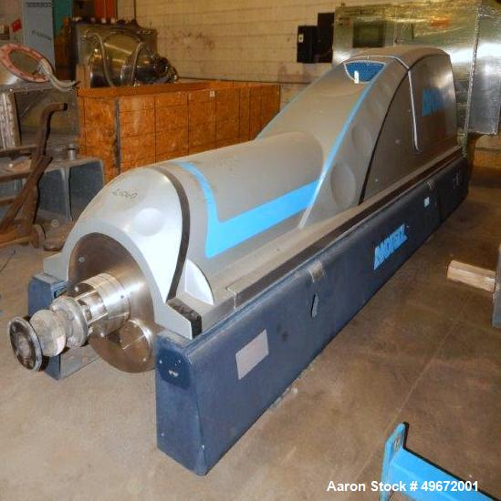 Used- Andritz Decanter Centrifuge, Model D4LLC30 HP # 3205