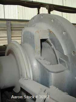 Used- Stainless Steel Bird Solid Bowl Decanter Centrifuge, HB-3900
