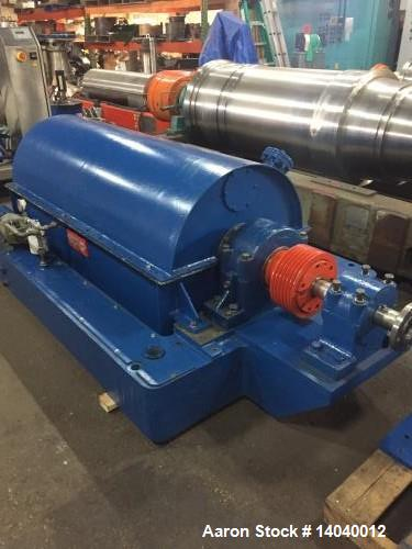 Used Bird 24 × 60 (a.k.a. 3600) Solid Bowl Decanter Centrifuge