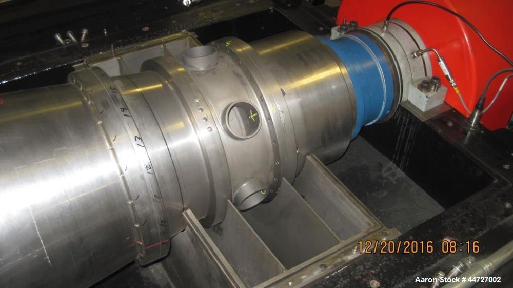 Used- Centriquip Decanter Centrifuge, Model CQ 6000