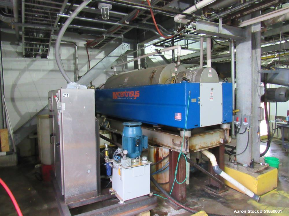 Used-Centrisys CS21-4HC Solid Bowl Tricanter Centrifuge