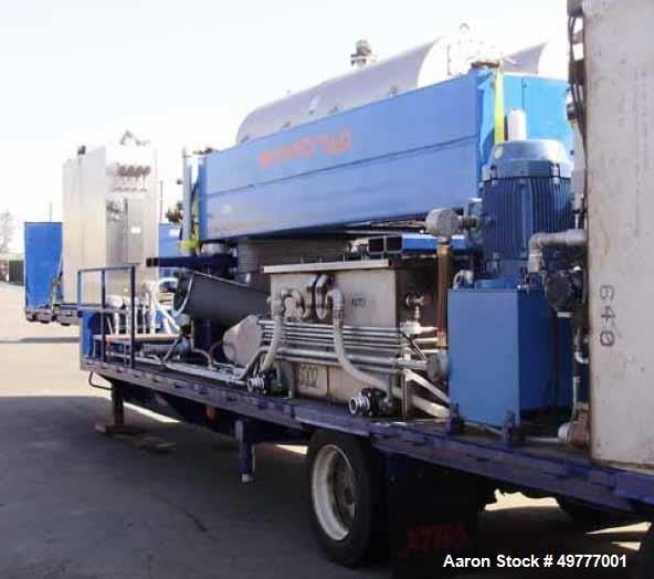 "Used- Centrisys CS26-4 Three Phase Solid Bowl ""Drilling Mud"" Decanter Centrifuge System. Trailer mount w/out riggers. Includ..."