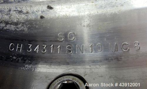 Used- Stainless Steel Dorr Oliver Solid Bowl Decanter Centrifuge