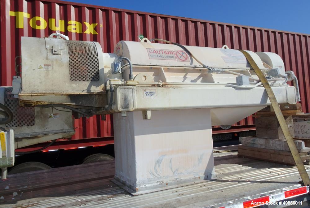 Used- FL Smidth 1860 Solid Bowl Decanter Centrifuge