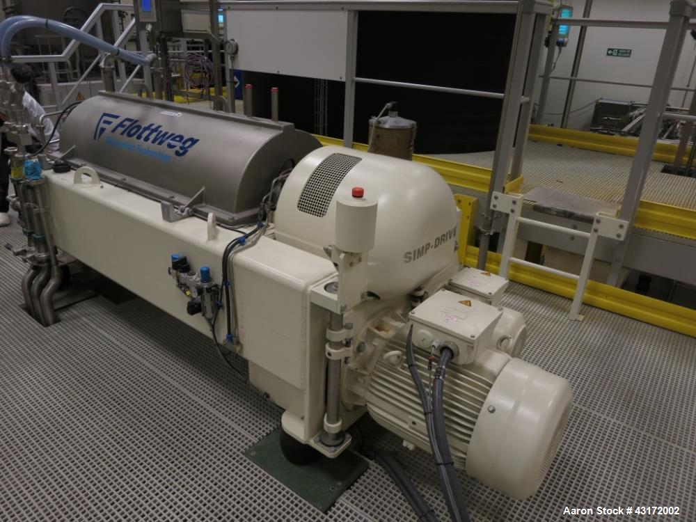 Used- Flottweg S4E-3-4 Sedicanter Centrifuge