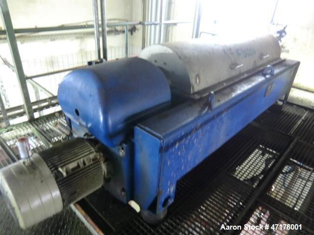 Used- Flottweg Z4D/4-441 Decanter Solid Bowl Decanter Centrifuge