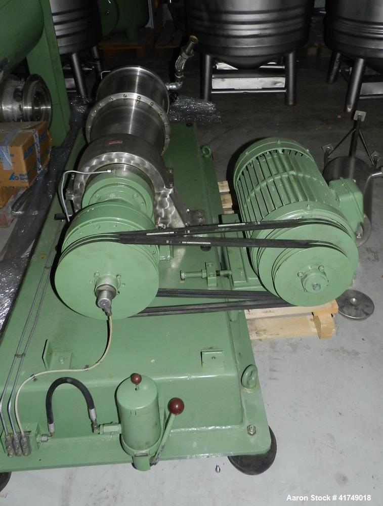Used- Flottweg Z2L Solid Bowl Decanter Centrifuge