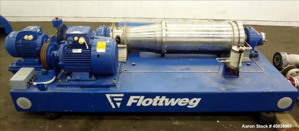 USED: Flottweg Z32/4-451 Solid Bowl Decanter Centrifuge