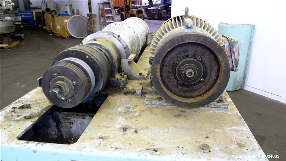 Used- Stainless Steel Flottweg Solid Bowl Horizontal Decanter Centrifuge