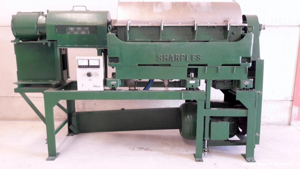 Used- Sharples P-3400-3PH Super-D-Canter Centrifuge.