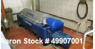Used- Flottweg Z4D/4-451 Solid Bowl Decanter Centrifuge.