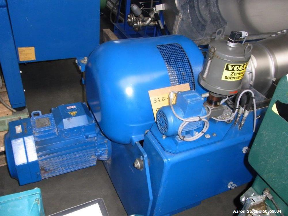 Used- Flottweg Z4E-4/401 Solid Bowl Decanter Centrifuge