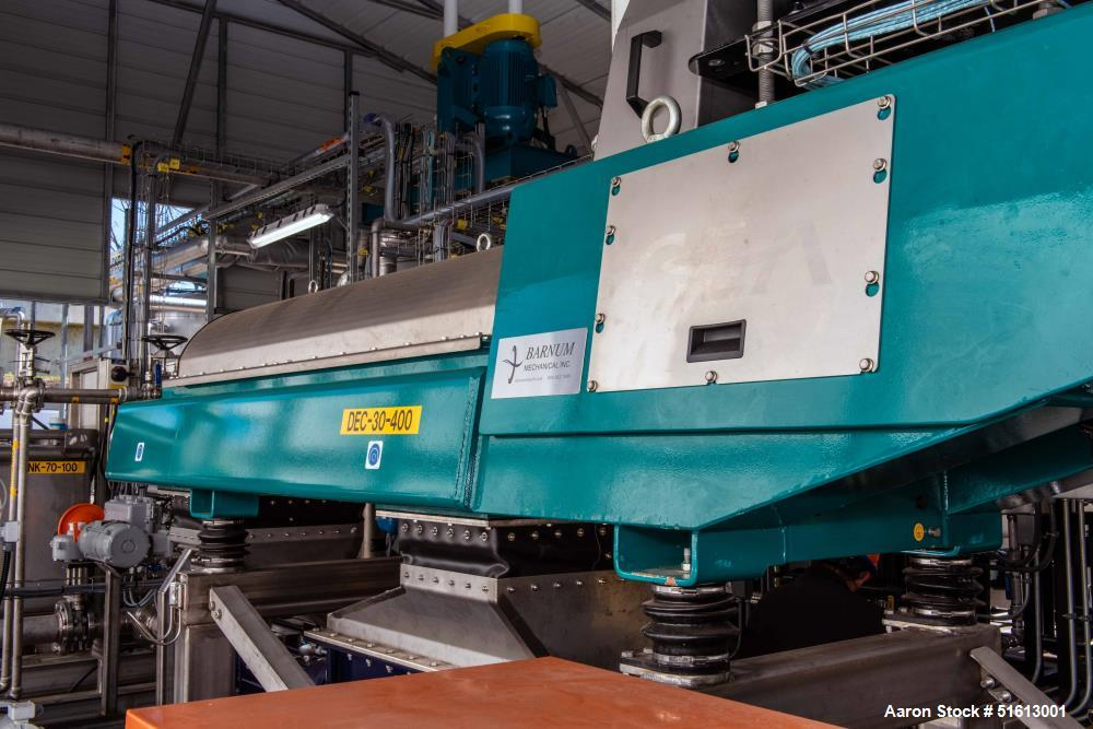 Used- GEA Westfalia Dewatering Centrifuge Skid