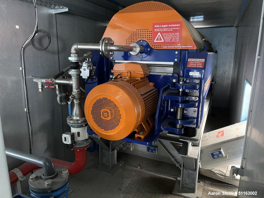 Used-ITE GmbH Mobile Decanter Waste Water Treatment System/Plant