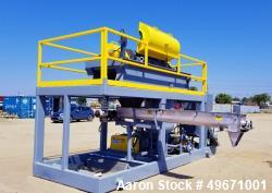 Unused- United Dewatering Skid. 304L Stainless Steel. Consisting of: United SS1000 18.5 x 50 decanter centrifuge. Max bowl s...