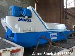"Used-Andritz D5LC30CHP Food Grade|"" Solid Bowl Decanter Centrifuge. 316 stainless steel constructio..."