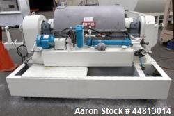"Bird 40"" x 60"" Solid Bowl Decanter Centrifuge; Bowl Speed-2200 Rpm; 75 Kw Drive."