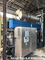 Used- Centrisys Skid Mounted Centrifuge System, Model CS21-4 3PH. Solid bowl. Bowl diameter 530 mm. L;D ratio 4.3:1. Bowl sp...