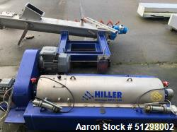 Used-Hiller DP31-422 Solid Bowl Decanter Centrifuge