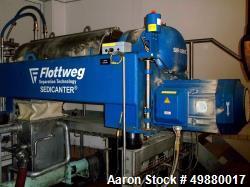 Used-Flottweg S4E-3-408 Sedicanter Centrifuge