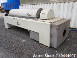 Used-KHD CP3044 Solid Bowl Decanter Centrifuge