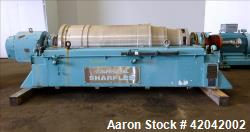 Used- Stainless Steel Sharples Super-D-Canter Centrifuge, DS-705