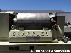Used- Sharples Super-D-Canter Centrifuge, Model P-660