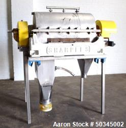 "Used- Sharples P-3000 ""Semi-Sanitary"" Super-D-Canter Centrifuge"