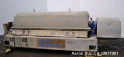 Used- Sharples Super-D-Canter Centrifuge, PM-75000
