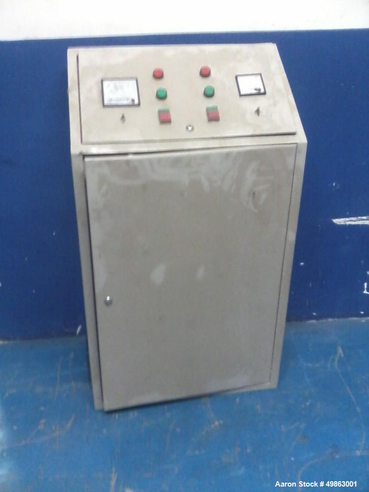 Used- Pieralisi Jumbo 2  Decanter Centrifuge (2 phases)and Electrical Panel. 60 ton capacity within 24 hours. 37kW main moto...