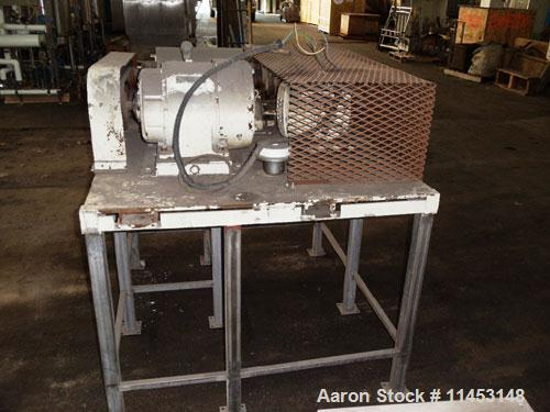 Used-Sharples P-660 Super-D-Canter Centrifuge, stainless steel construction (product contact areas), max bowl speed 6000 rpm...