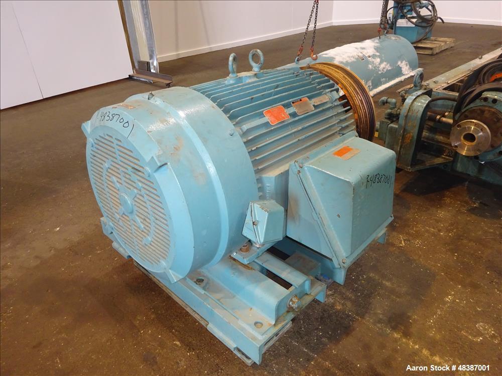 Used- Sharples DS-406 Super-D-Canter Centrifuge