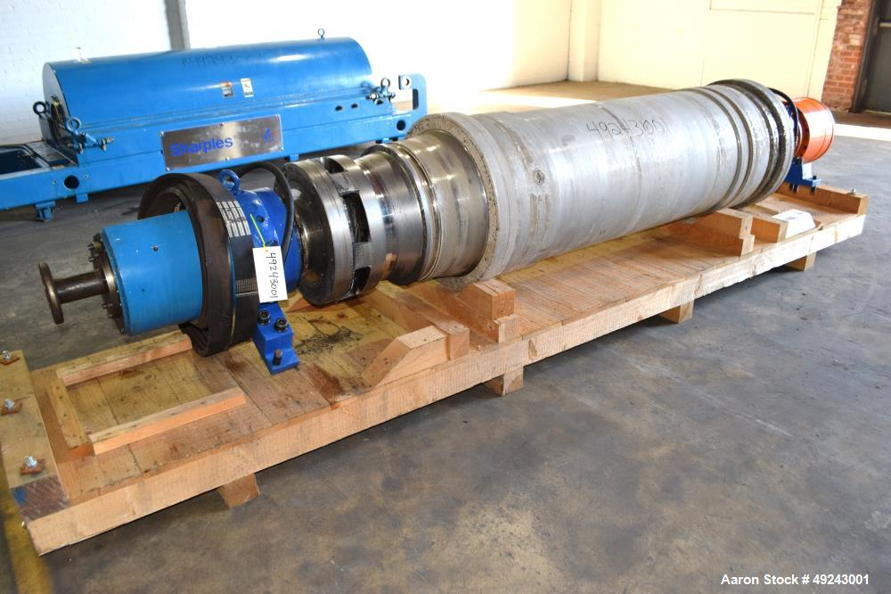 Used- Alfa Laval/Sharples DS-406 (DSNX 5550) Super-D-Canter Centrifuge
