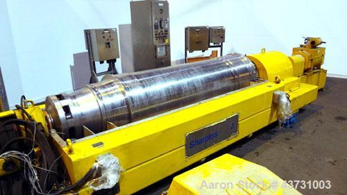 Used- Stainless Steel Sharples Super-D-Canter Centrifuge,  DS-706