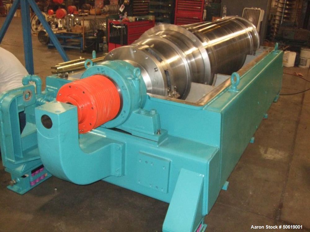 Used- Sharples Super-D-Canter DS-706 Centrifuge