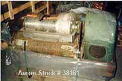 Used- Stainless Steel Sharples P-1000 Super-D-Canter Centrifuge