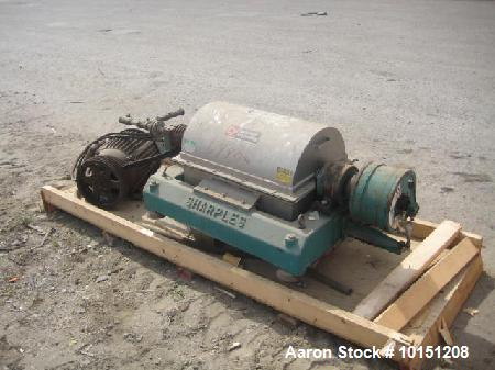 Used- Sharples P-2000 Super-D-Canter Centrifuge.