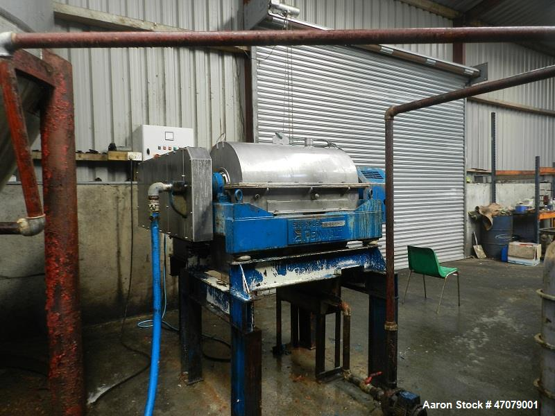 Used Sharples P-3000 Super-D-Canter Centrifuge