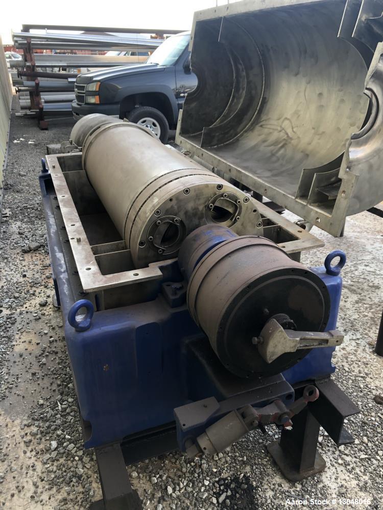 Used- Sharples/Pennwalt P-3400 Decanter Centrifuge