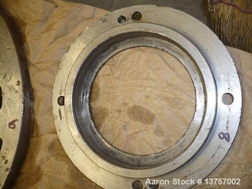 """Used- Sharples P-3400 Super-D-Canter centrifuge, stainless steel construction, 4.25"""" single lead conveyor with welded hardfa..."""