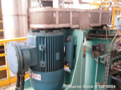 Used- Stainless Steel Sharples Vertical Super-D-Canter Centrifuge