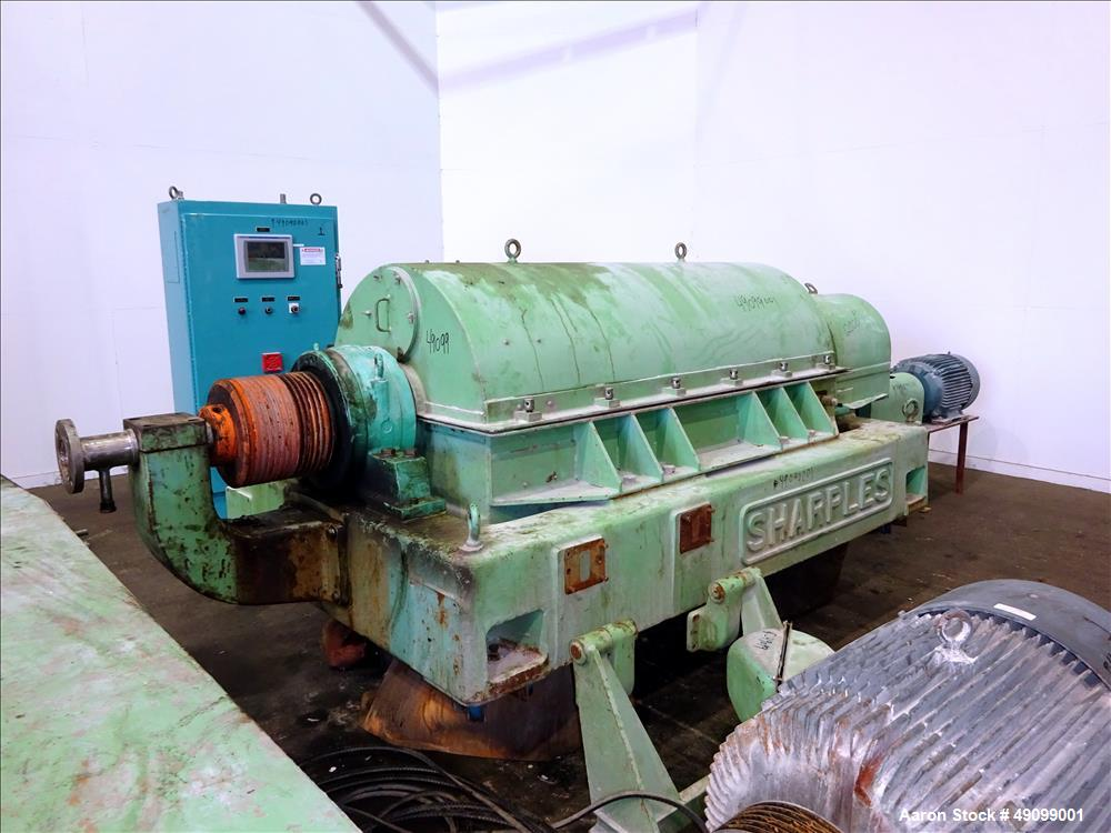 Used- Sharples P-5000 Super-D-Canter Centrifuge