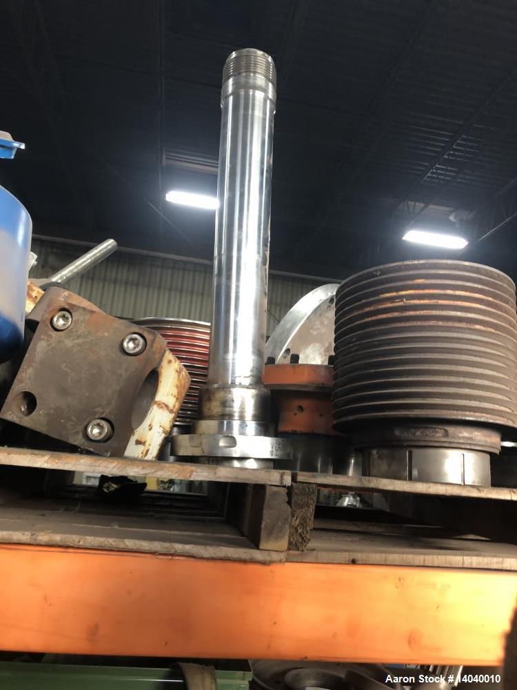 Used- Sharples P-5400 Super-D-Canter Centrifuge Rotating Assembly.